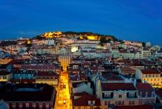 Lissabon - Baixa und Castelo