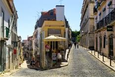 Lissabon - Barrio Alto - Rua do Almada