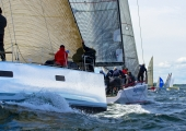 MAIOR - Regatta 2014   -   Desna  GER 5588  - Sven Wackerhagen - KNIERIM 49, und Farr400   NOR 411-  Morten Ulrikkeholm  - Farr400