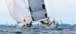 MAIOR - Regatta 2014   -   Ember Sea  GER 6868 - Matthias Mier - BRENTA 55, und Silva Neo  GER 6999 - Dennis Gehrlein- GP 42  - 1