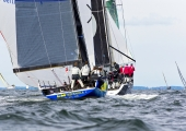 MAIOR - Regatta 2014   -   L+M Hispaniola  GER 6848 - Horst Mann - GP 42 , und Tutima   GER 5609 - Kirsten Harmstorf - DK 46