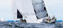 MAIOR - Regatta 2014   -   Ember Sea  GER 6868 - Matthias Mier - BRENTA 55, und Silva Neo  GER 6999 - Dennis Gehrlein- GP 42  - 2