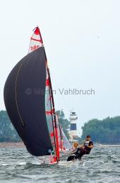 Young Europeans Sailing Kiel 2014 - 29er Class 7