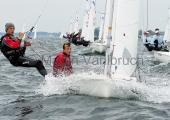 Young Europeans Sailing Kiel 2014 - 420 Class 7