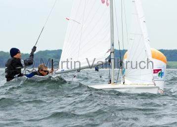 Young Europeans Sailing Kiel 2014 - 420 Class 6