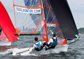 Young Europeans Sailing Kiel 2014 - 29er Class 9