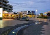 Scharbeutz - Badeweg am Abend 1