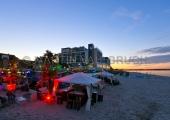 Scharbeutz - Strandlounge und Bayside am Abend