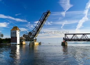 Klappbrücke Lindaunis