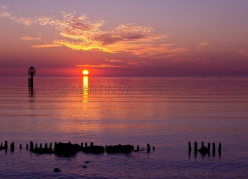 Sonnenaufgang an der Ostsee bei Schleimünde 2