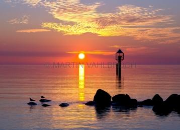 Sonnenaufgang an der Ostsee bei Schleimünde 1