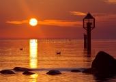 Sonnenaufgang an der Ostsee bei Schleimünde 3