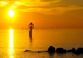 Sonnenaufgang an der Ostsee bei Schleimünde 5