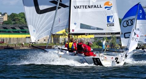 Segel-Bundesliga Kiel 2015 - Berliner Yacht-Club 1