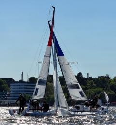 Segel-Bundesliga Kiel 2015 - Münchner Yacht-Club und Verein Seglerhaus am Wannsee