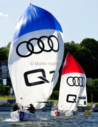 Segel-Bundesliga Kiel 2015 - Yachtclub Berlin Grünau und Segel- und Motorbootclub Überlingen