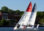 Segel-Bundesliga Kiel 2015 - Kieler Yacht-Club und Segelklub Bayer-Uerdingen
