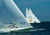 Kieler Woche 2012   Starboot - im Hintergrund: Johannes Polgar & Markus Koy, NRV