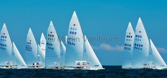 Kieler Woche 2012   Starboot 1
