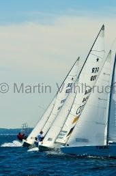 Kieler Woche 2012  Starboot  -  Alexander Hagen & Marko Hasche, NRV, und Johannes Polgar & Markus Koy, NRV