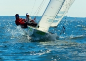 Kieler Woche 2012   Starboot - Barbara Beigel-Vosbury & Guy  Avellon, SSA