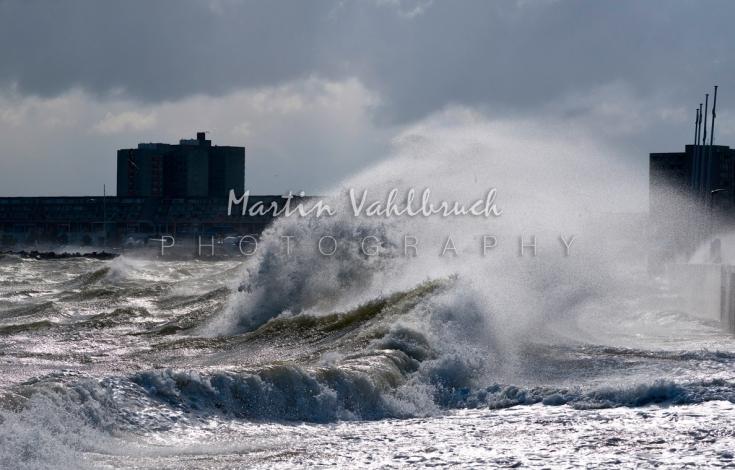 Sturm an der Ostsee 1