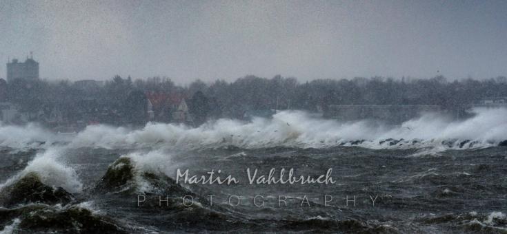 Sturm an der Ostsee 8