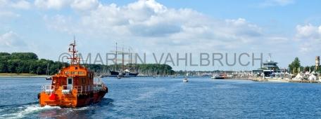Travemünde - Untertrave mit Lotsenboot 2