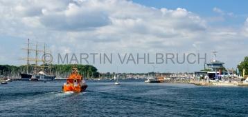 Travemünde - Untertrave mit Lotsenboot 1