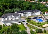 Travemünde - A-Rosa  Hotel von oben