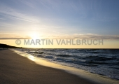 Usedom - Zempin - Strand im Sonnenuntergang 11