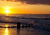Usedom - Zempin - Strand im Sonnenuntergang 5