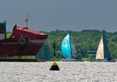 Kieler Woche 2014 - Welcome Race - Traffic