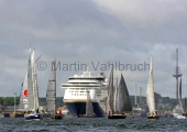Kieler Woche 2014 - Welcome Race - Color Line 2