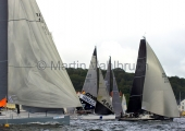 Kieler Woche 2014 - Welcome Race - Platoon - One4all - Silva Neo beim Start