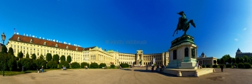 Wien - Heldenplatz Panorama