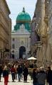 Wien - Michaelertor und Kohlmarkt