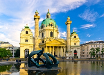 Wien - Karlskirche 2