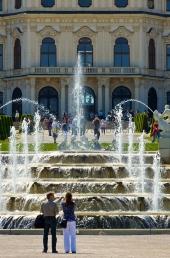 Wien - oberes Belvedere - Kaskade 1
