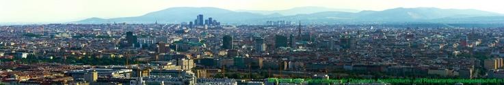 Wien vom Donauturm - Panorama