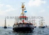 Windjammerparaden Kiel - Schlepper Falckenstein