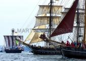 Windjammerparaden Kiel - Hansekogge - Roald Amundsen - Else bzw Zuversicht