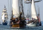 Windjammerparaden Kiel - Roald Amundsen - Amphitrite - Tolkien