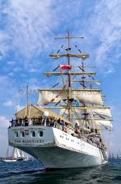 Windjammerparaden Kiel - Dar Mlodziezy 1
