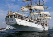 Windjammerparaden Kiel - Dar Mlodziezy 2