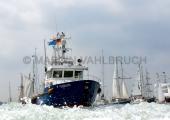 Windjammerparaden Kiel - Polizeiboot Fehmarn