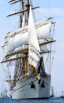 Windjammerparaden Kiel - Gorch Fock 1