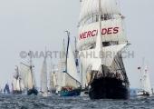 Windjammerparaden Kiel - Mercedes 1