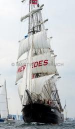 Windjammerparaden Kiel - Mercedes 3