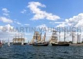 Windjammerparaden Kiel - Kruzenstern - Atlantis - Thalassa - Mare Frisium